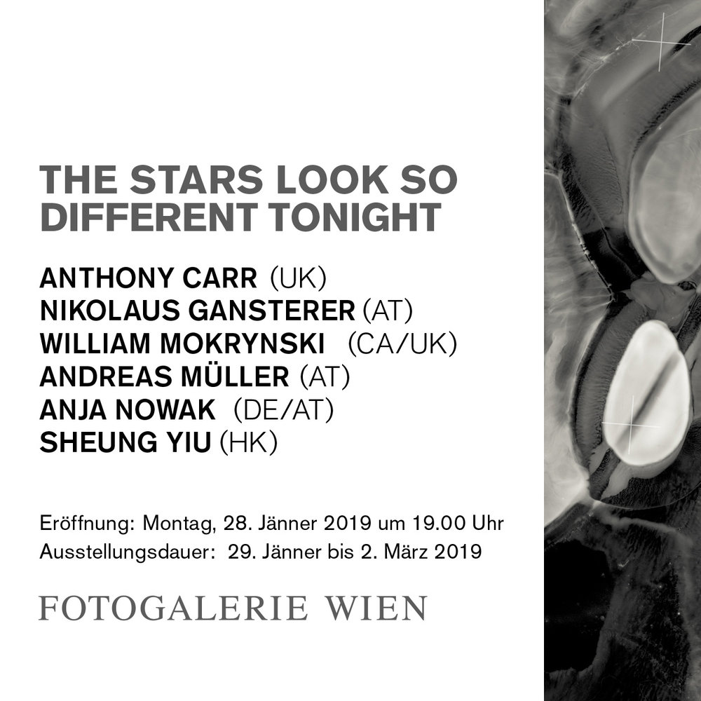 The Stars Look So Different Tonight – Fotogalerie Wien