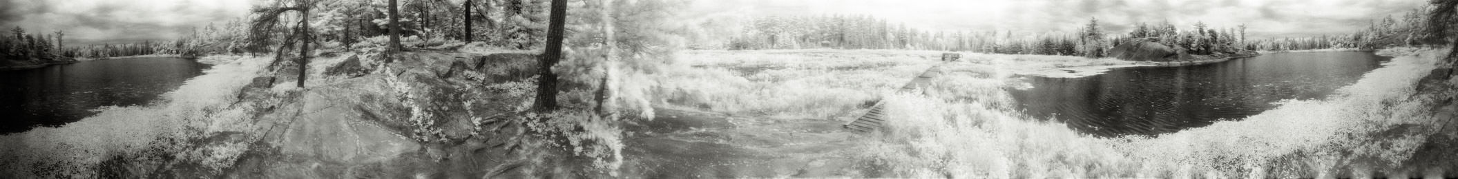 """""""Wetland Observation Structure"""" from the series Footprints, by William Mokrynski"""