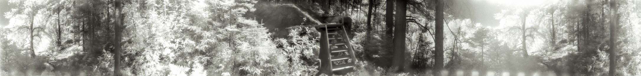 """""""Staircase"""" from the series Footprints, by William Mokrynski"""