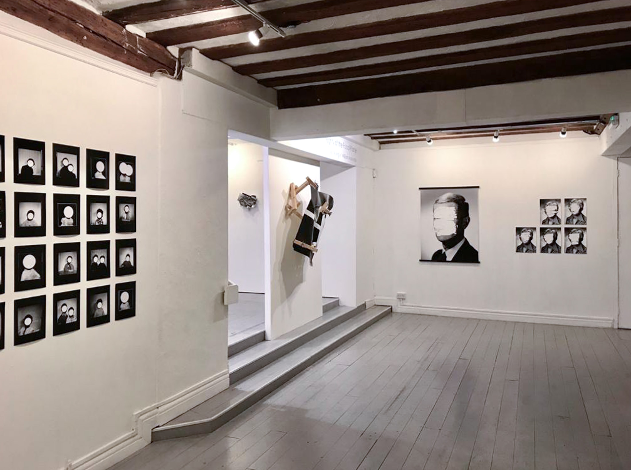 """Exhibition view of """"Integrity of the Focal Plane"""" at the Minories Gallery, Colchester, UK, 2020"""