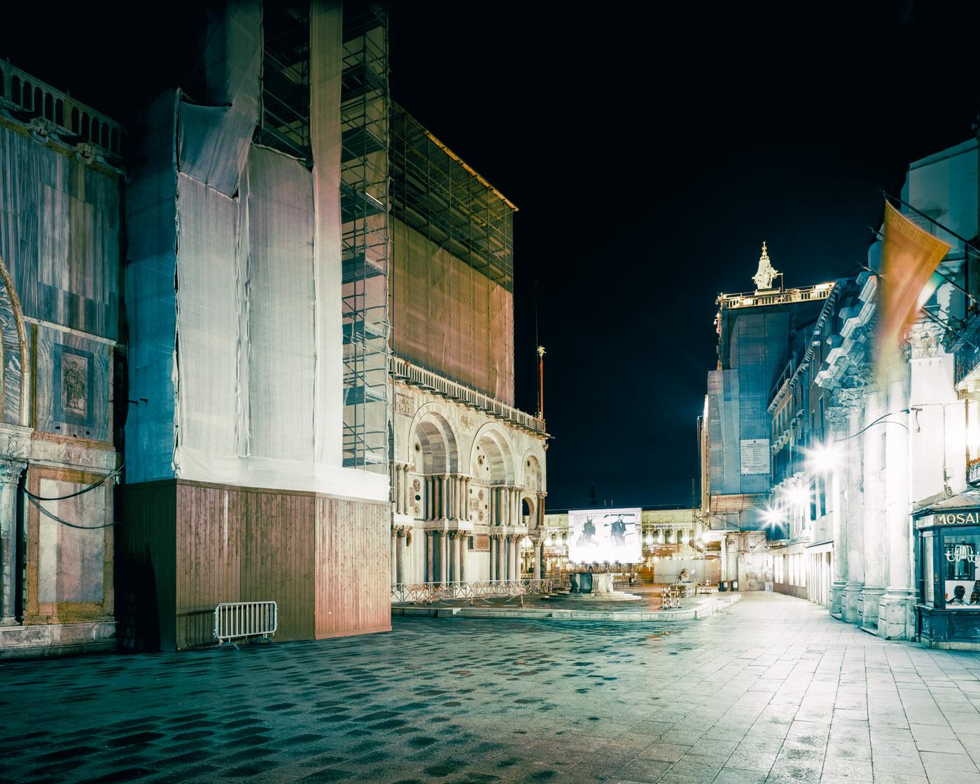 """Basilica di San Marco, Venice"" from the series Nylon Chrysalis, by William Mokrynski"