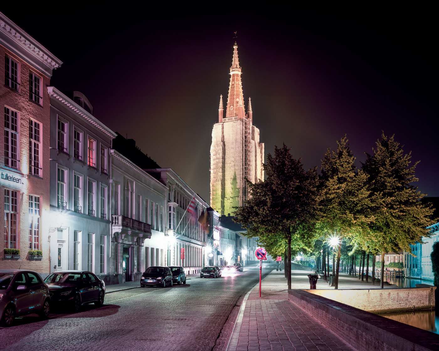 """""""Church of our Lady, Brugge"""" from the series Nylon Chrysalis, by William Mokrynski"""