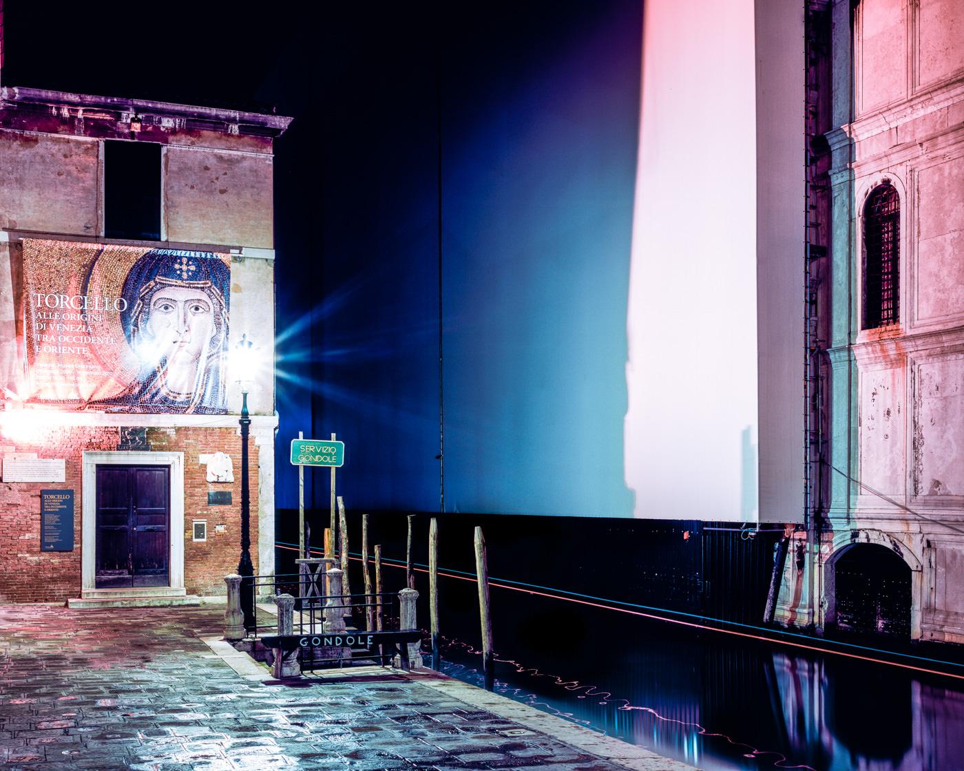 """""""Procuratoria Della Basilica Di San Marco, Venice"""" from the series Nylon Chrysalis, by William Mokrynski"""
